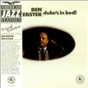 Click here for more info about 'Ben Webster - Duke's In Bed! + obi'