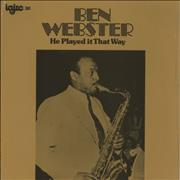 Click here for more info about 'Ben Webster - He Played It That Way - Sealed'