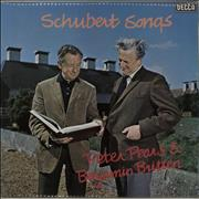 Click here for more info about 'Benjamin Britten - Schubert Songs'