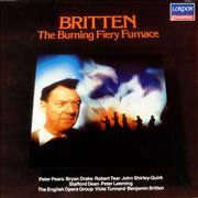Click here for more info about 'Benjamin Britten - The Burning Fiery Furnace - Factory Sample'