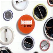 Bennet I Like Rock UK CD single