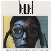 Bennet If You Met Me Then You'd Like Me UK CD single