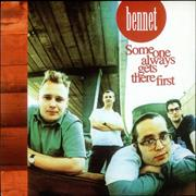Click here for more info about 'Bennet - Someone Always Gets There First - Red Vinyl'