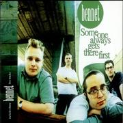 Bennet Someone Always Gets There First UK CD single
