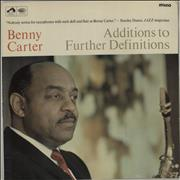 Click here for more info about 'Benny Carter - Additions To Further Definitions'