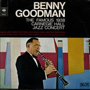 Click here for more info about 'Benny Goodman - 1938 Carnegie Hall Jazz Concert - 1956 Sleeve'