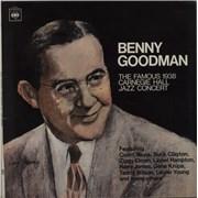 Benny Goodman 1938 Carnegie Hall Jazz Concert - Art Sleeve UK 2-LP vinyl set