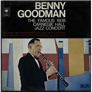 Benny Goodman 1938 Carnegie Hall Jazz Concert - 1956 Sleeve Netherlands 2-LP vinyl set