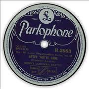 Click here for more info about 'Benny Goodman - After You've Gone'