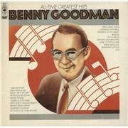 Benny Goodman All-Time Greatest Hits UK 2-LP vinyl set