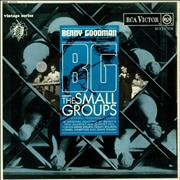 Click here for more info about 'Benny Goodman - B.G. The Small Groups'