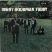 Benny Goodman Benny Goodman Today UK 2-LP vinyl set