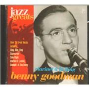Benny Goodman Clarinet À La King France CD album