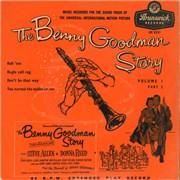 "Benny Goodman The Benny Goodman Story Volume 1 Part 2 UK 7"" vinyl"