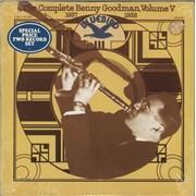 Benny Goodman The Complete Benny Goodman, Volume V / 1937-1938 USA 2-LP vinyl set