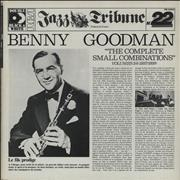 Benny Goodman The Complete Small Combinations - Volumes 3 & 4 France 2-LP vinyl set