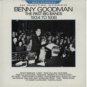 Benny Goodman The First Big Bands 1934 - 1938 UK vinyl LP