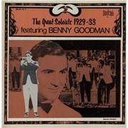 Benny Goodman The Great Soloists 1929-33 Featuring Benny Goodman USA vinyl LP