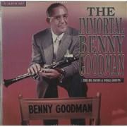 Benny Goodman The Immortal Benny Goodman UK 3-LP vinyl set