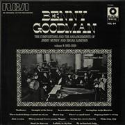 Benny Goodman Volume 8 (1935-1938) The Compositions And The Arrangements Of Jimmy Mundy And Edgar Sampson France vinyl LP