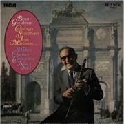 Benny Goodman Weber Clarinet Concertos Nos. 1 and 2 UK vinyl LP