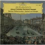 Berliner Philharmoniker Adagio Germany vinyl LP