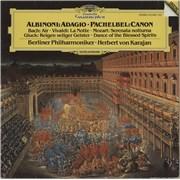Berliner Philharmoniker Albinoni: Adagio / Pachelbel: Canon Germany vinyl LP