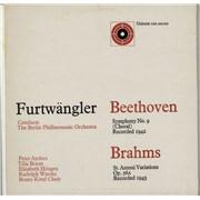 Berliner Philharmoniker Beethoven: Symphony No. 9 (Choral) / Brahms: St. Antoni Variations, Op.56A UK 2-LP vinyl set