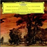 Berliner Philharmoniker Symphony No. 8 'Unfinished' / Symphony No. 4 UK vinyl LP