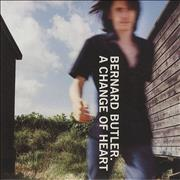 Click here for more info about 'Bernard Butler - A Change Of Heart'
