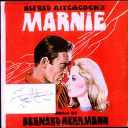Click here for more info about 'Bernard Herrmann - Marnie - Red Vinyl - Autographed'