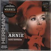 Bernard Herrmann Marnie - Scarlet vinyl + 7