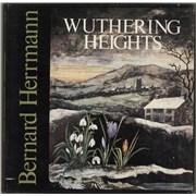 Bernard Herrmann Wuthering Heights UK vinyl box set