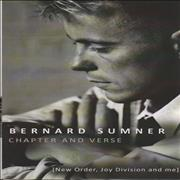Click here for more info about 'Bernard Sumner - Chapter And Verse: New Order, Joy Division And Me'