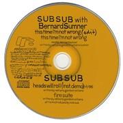 Bernard Sumner This Time I'm Not Wrong UK CD single Promo