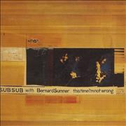 "Bernard Sumner This Time I'm Not Wrong UK 12"" vinyl"