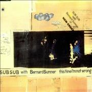 Click here for more info about 'Bernard Sumner - This Time I'm Not Wrong'