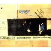 Bernard Sumner This Time I'm Not Wrong Australia CD single