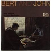 Click here for more info about 'Bert Jansch & John Renbourn - Bert And John - 1st - VG'
