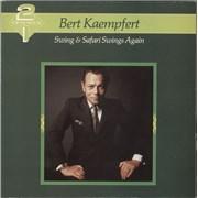 Bert Kaempfert Swing & Safari Swings Again - 2 For The Price Of 1 UK 2-LP vinyl set