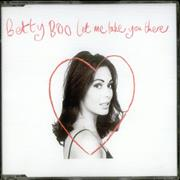 Click here for more info about 'Betty Boo - Let Me Take You There - Black Disc'