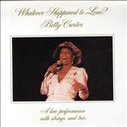 Click here for more info about 'Betty Carter - Whatever Happened To Love?'