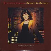Click here for more info about 'Beverley Craven - Woman To Woman - card sleeve'