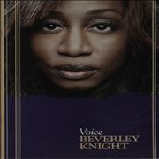 Beverley Knight Voice UK tour programme