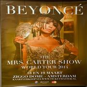 Click here for more info about 'Mrs Carter World Tour Poster'