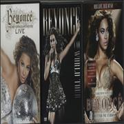 Click here for more info about 'Beyoncé Knowles - Quantity of Three DVDs'