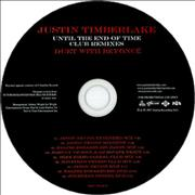 Click here for more info about 'Beyoncé Knowles - Until The End Of Time - Radio Remixes + Club Remixes'