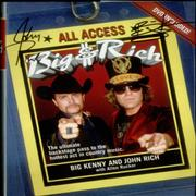 Click here for more info about 'Big & Rich - Big and Rich: All Access + DVD & Autogrpahed'