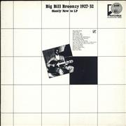 Click here for more info about 'Big Bill Broonzy - Big Bill Broonzy 1927-32: Mostly New To LP'
