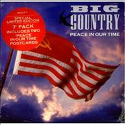 Click here for more info about 'Big Country - Peace In Our Time + Postcards'
